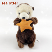 best toys custom stuffed sea animal plush sea otter toys