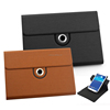 Magnet closure full protect stand handheld brief leather cover for ipad