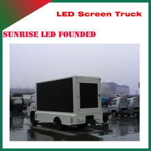 Sunrise electronic circuit board SMD p6, p8, p10 high brightness outdoor truck mobile advertising led display screen
