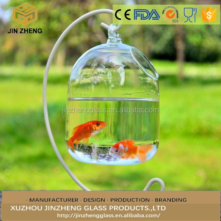 Large Room Crystal Vase Flower Fish Tank Hydroponic Terrarium Pot