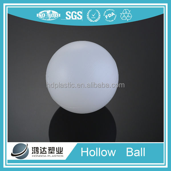 HDPE 100mm Platic floating hollow ball manufacture plastic floating ball