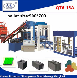 Tianyuan machinery hollow solid block machine factory OEM