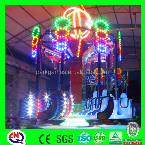 Hot flying amusement top spin rides manufacturer rides