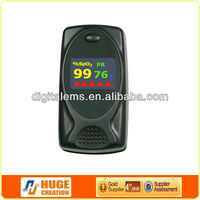 Advertising pediatric pulse oximeter principle