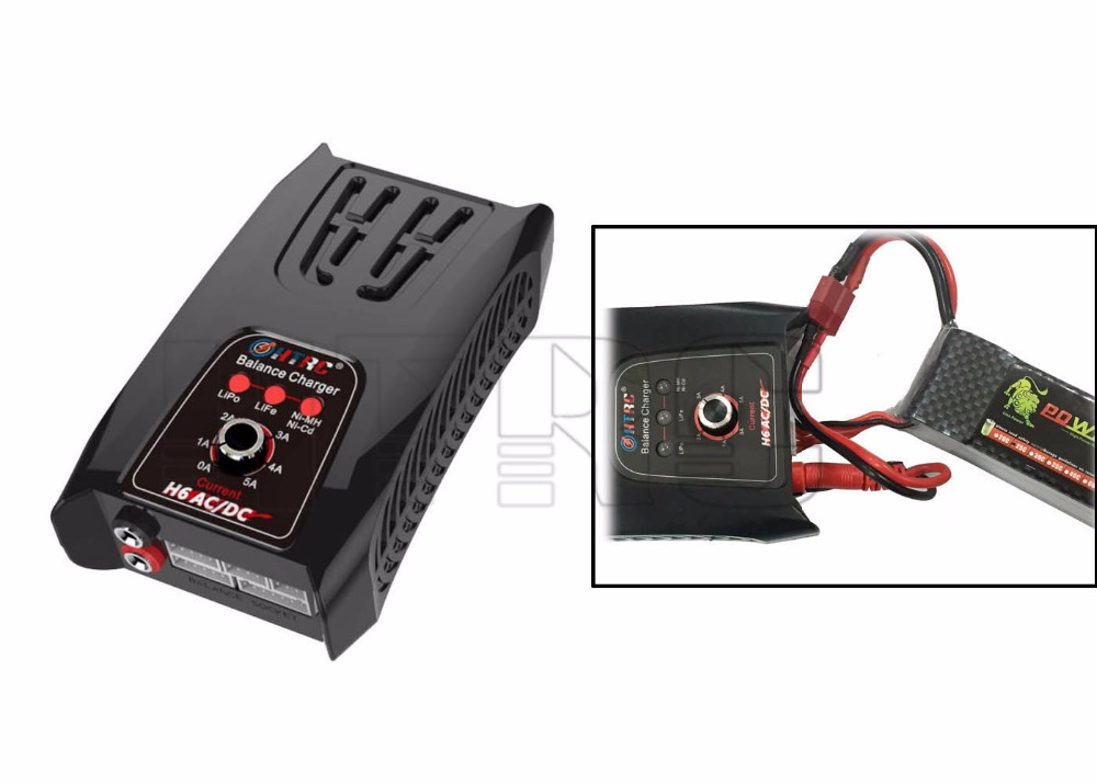 Input AC110-240V / DC11-18V RC helicopter battery charger for Lipo / LiFe batteries