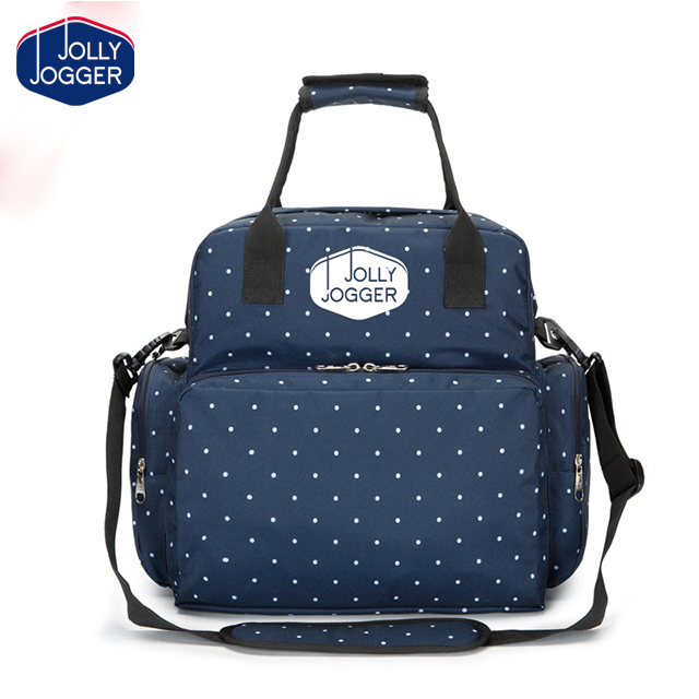 Mommy Baby Diaper Bag with Changing Pad, Stroller Clips and Shoulder Strap
