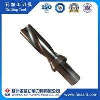 Screw Type Base Support Indexable U Drill Tool