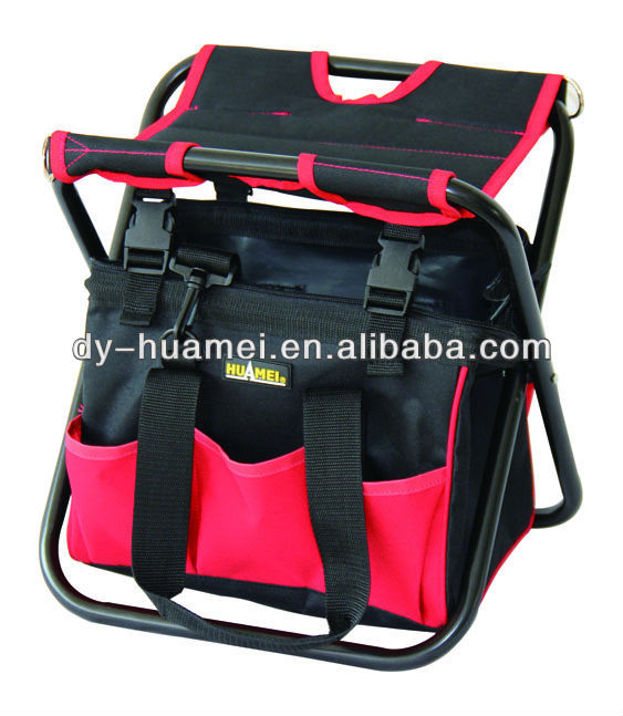 13 inch Garden Chair Tool Bag with Removable Tote