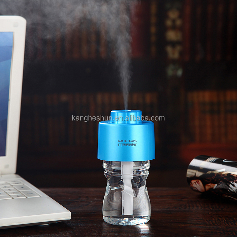 New Design Bottle Cap II 280ml USB Mini Incubator Humidifier