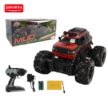 Zhorya 4 channel 1:16 scale long range powerful mud big wheels rechargeable radio control 4x4 Mountain off road rc car