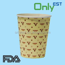 OEM acceptable high quality hot/cold drinks 12 oz paper cups