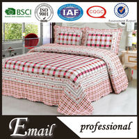 Luxury cotton quilt patchwork king bedroom set/funny bedding sets