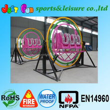 Hot sale 3d outdoor human gyroscope rides for sale