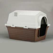 Plastic Portable traveling small pet kennel