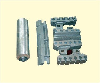 Wear Resistant Boiler Chain Grate Bars for DZL or SZL Boiler