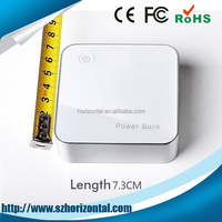 hot new products for 2014 mobile power bank/high quality universal portable power bank with unique design