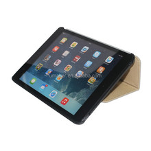 Hot selling pu leather case stand holder for ipad mini case