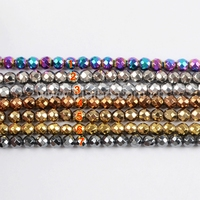 AAA Grade Titanium Rainbow Color Faceted