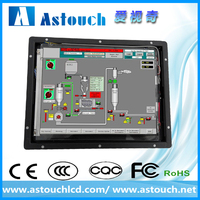 Astouch 8.4 frameless resistive touchscreen monitor with DVI/VGA input for metra industrial machine A08-OPD01