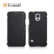 icarer genuine leather case for samsung galaxy S5 i9600