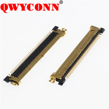 0.5mm Pitch Au Plated 40pin SMT H1.0 LVDS FPC connector