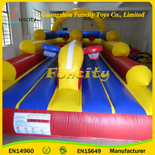 Factory supply PVC tarpaulin kids inflatable jumping caslte mini combo jumper