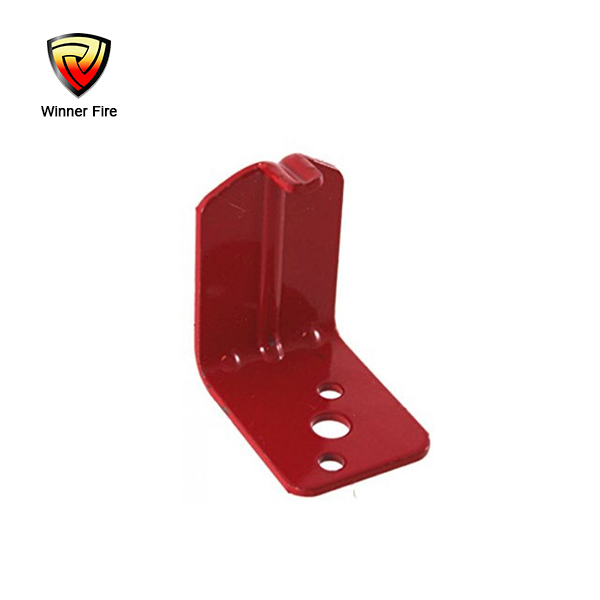 Metal fire extinguisher hook wall hook for fire equipment