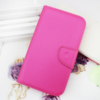 Colorful Lozenge pattern flip leather case cover for samsung galaxy note 2 n7100