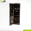 Goodlife Mirror Jewelry Cabinet Wall Mounted Jewelry Cabinet With LED Llight