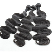 Hot Sell Top Grade Human Could Be Dyed Any Color Fbs Hair Extension