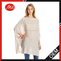 Women's semi-sheer Mexican poncho sweaters pattern