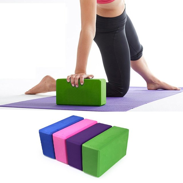 EVA Yoga Blocks Bricks Foaming Foam Home Exercise Fitness Health Gym Practice Tool 23*15*7.5