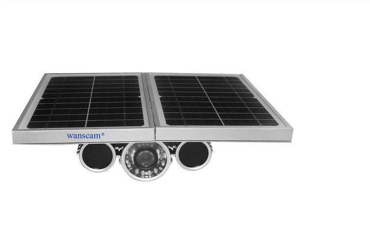 Support viewing in 3G/4G network Wifi Motion detection P2P 1.0 Megapixel 720P H.264 home solar systems with IP Camera