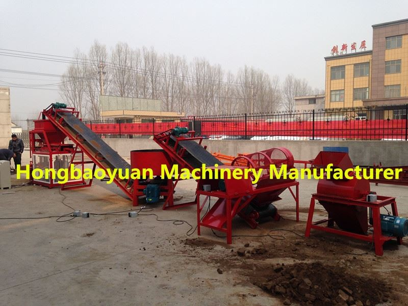 interlocking brick machine malaysia for hot sale type HBY2-10 (Hongbaoyuan Machinery manufacturer )