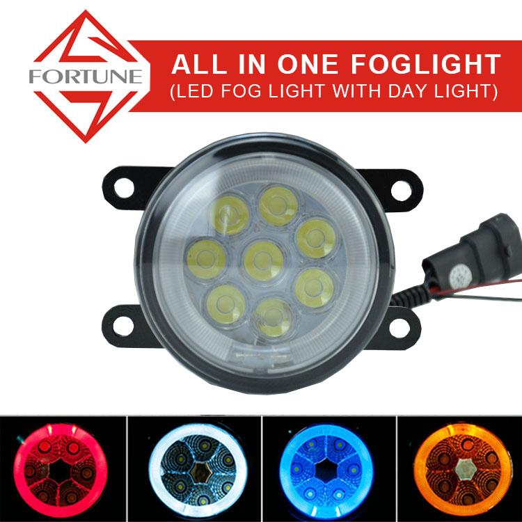 Super brightly 3.5inch led fog lamp 18w replacment led fog light for Peugeot 408 2012