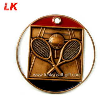 Cheap commemorative table tennis sports award medal