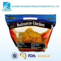 Color printing plastic BOPP/CPP stand up chicken packaging bags