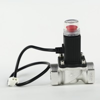 LPG gas solenoid valve to shut off the gas source supply for 3/4""