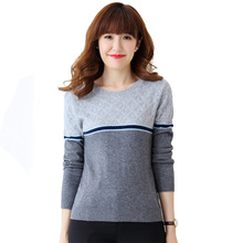 2018 new design colorful knitted cashmere Sweaters for woman