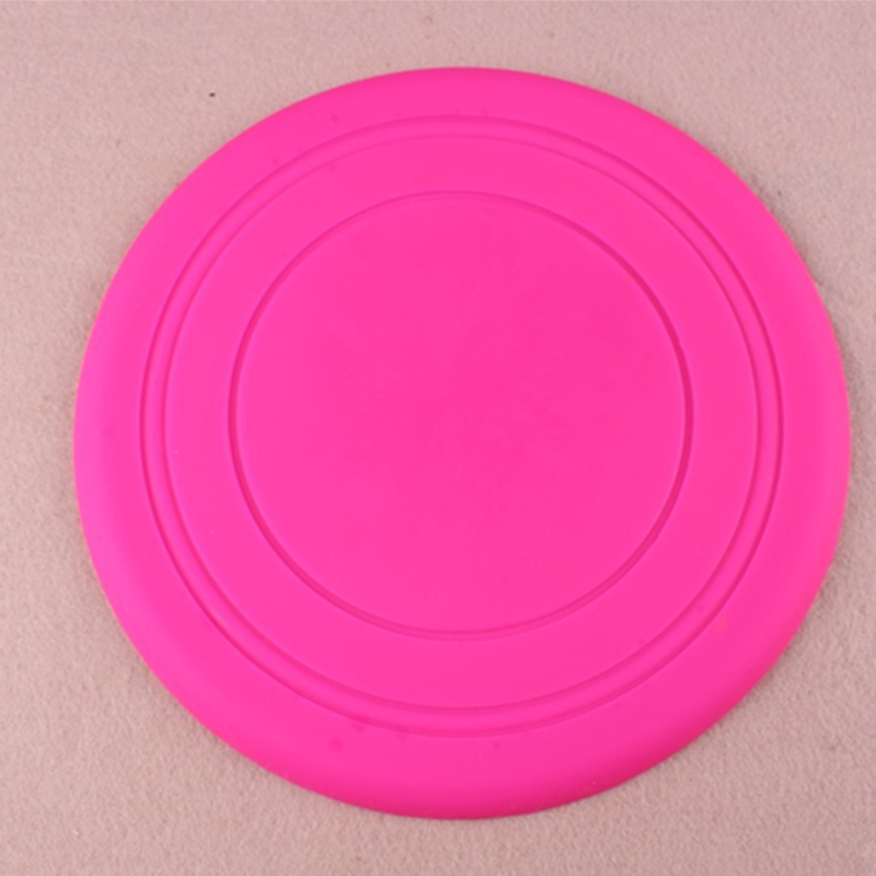 Shenzhen Factory Direct Supply Big Pet Toy Frisbee Dog Cat Big Silicone Frisbee Ball