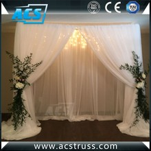 ACS Wholesale pipe and drape portable trade show display exhibition booth/pipe and drape wedding