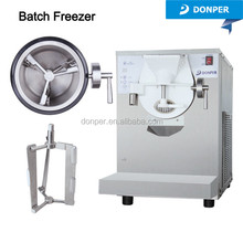 Donper Table Top Batch Freezer BTY7120 one touch dispensing gelato machine hard ice cream machine