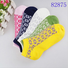 total five color short green sock for very young girl
