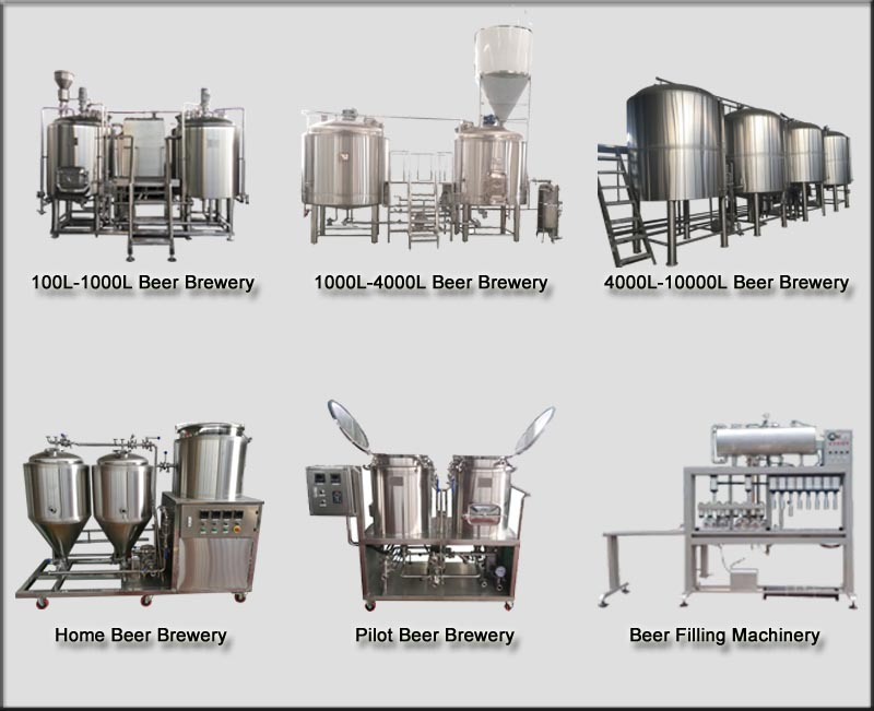 7bbl brewery equipment beer brewing system brewing machine
