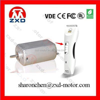 Micro dc motor electric motor for hair clipper FF-180SH