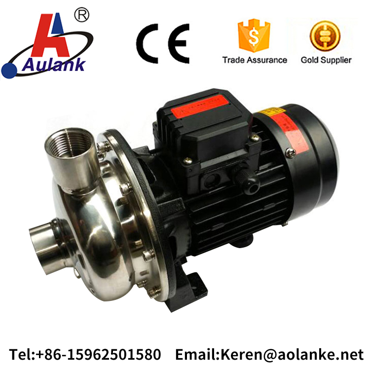 ss 304 water and oil transfer centrifugal pump