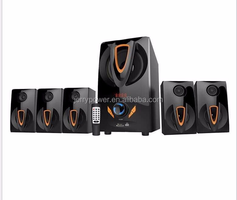JERRY New arrival hi-fi woofa speakers 5.1 wireless home theater system