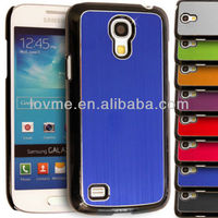 Brushed Metallic Hard Back Case for Samsung Galaxy S4 Mini