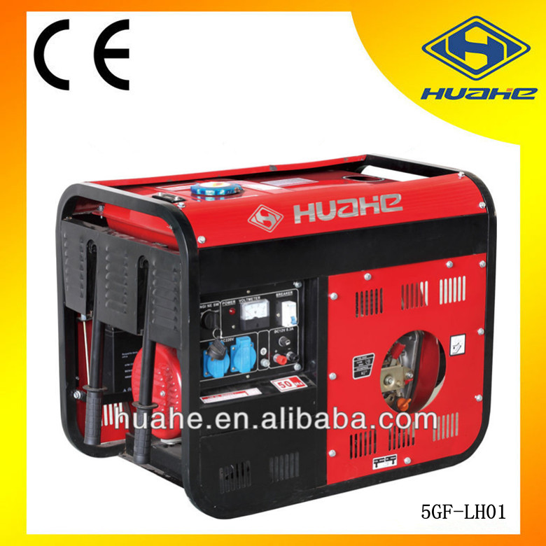 HUAHE(CHINA)Low Fuel Consumption Diesel Generator,Diesel Generator 5kw Genset,Diesel Generator 5 kva