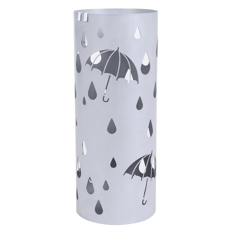 Manufacturers wholesale European style home iron umbrella frame can be packed with laser cutting patterns can be customized